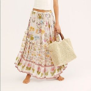 Spell and the Gypsy Wild Bloom Maxi Skirt